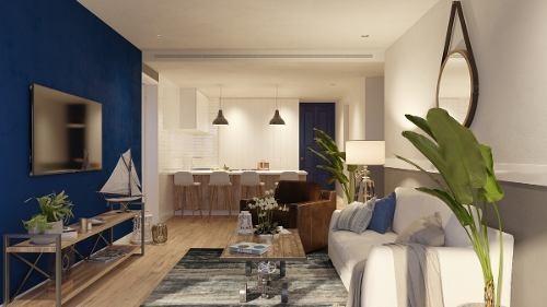 blue house marina puerto morelos exclusivo desarrollo lujoso