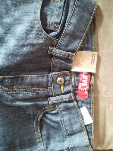 blue jeans levis 100% original talla 7 niño cod 78