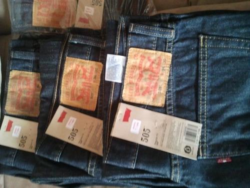 blue jeans levis 505 talla 34x30 y 36x32 impo. usa