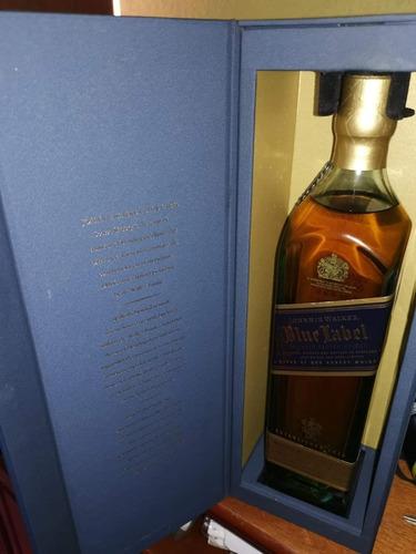 blue label   walker y sons limited blue label whisky 1ltr