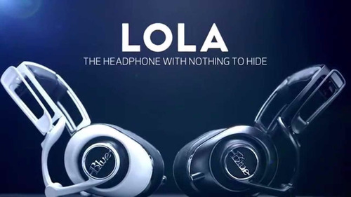 blue lola auricular profesional gamer pc
