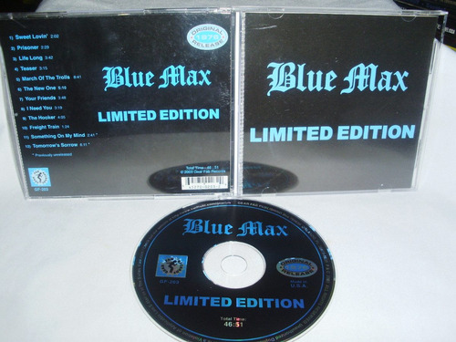 blue max - limited edition ( metal canadiense 70s)