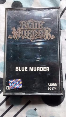 blue murder - blue murder / casete nacional impecable!