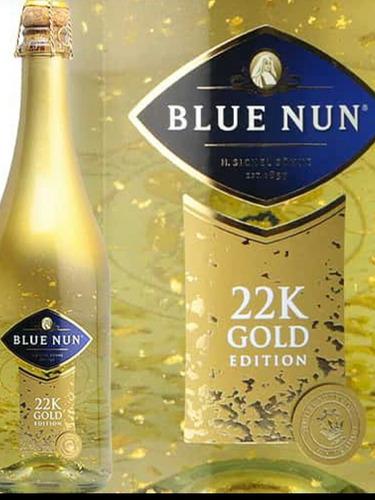 blue nun 22 k gold edición vino