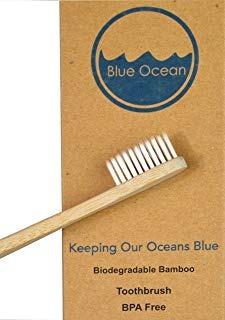 blue ocean - cepillo de dientes de bambú natura envio gratis