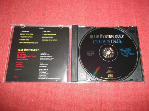 blue oyster cult - club ninja cd usa ed 1997 mdisk