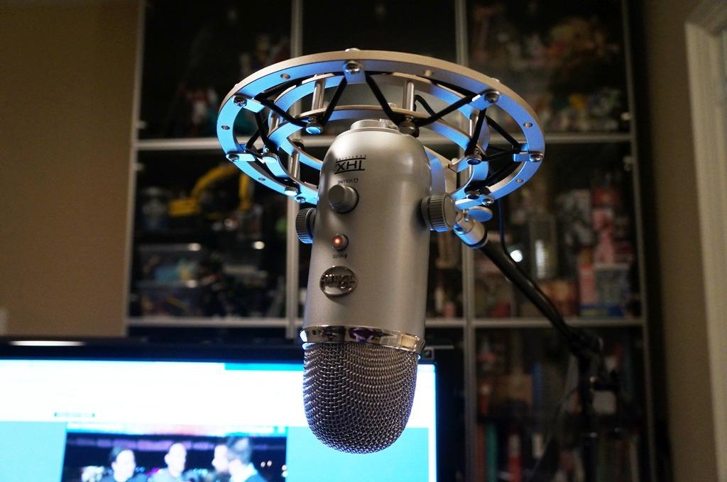 Blue Radius Ii Shockmount Suspension De Microfono Blue