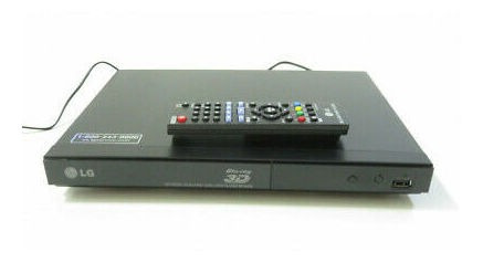 blue ray 3d  lg modelo bp335w & control remoto wifi