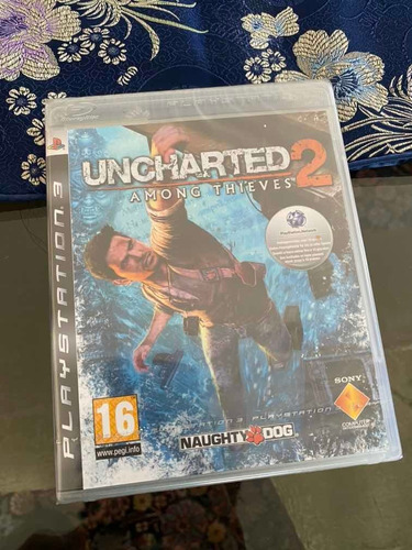 blue ray disc com game uncharted among thieves.