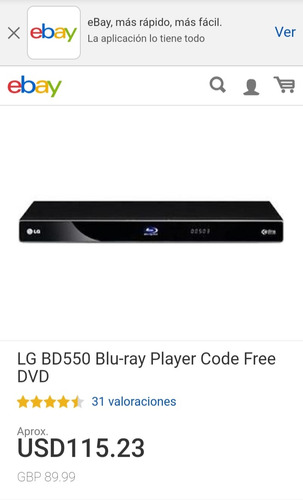 blue ray network lg bd550