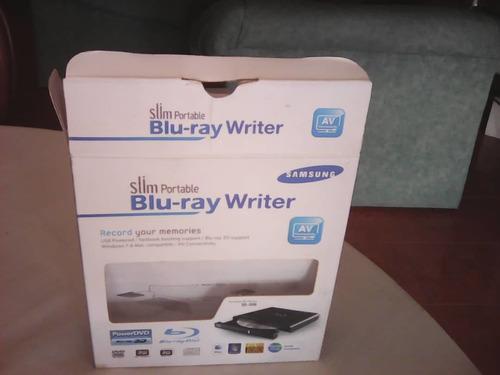 blue ray slim portátil samsung