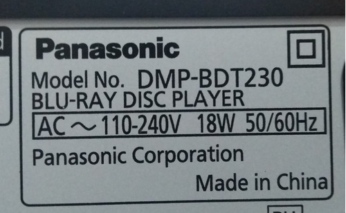 blue ray smart / dvd /2d - 3d panasonic
