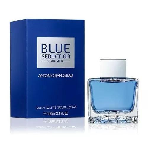 blue seduction 100ml masculino edt lacrado e 100% original