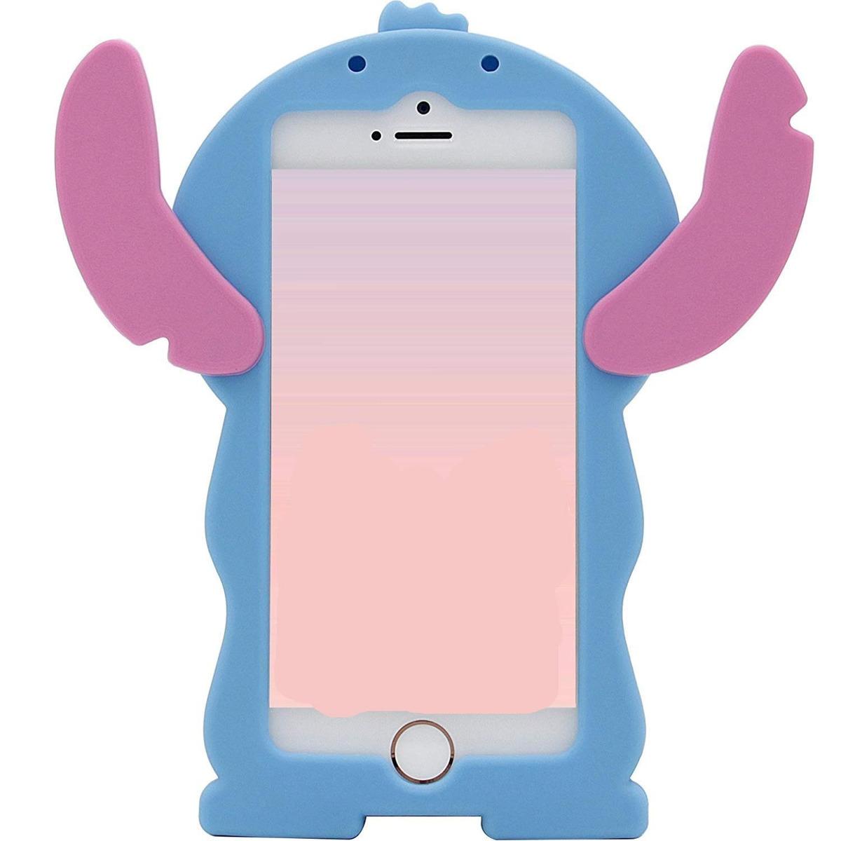 Blue Stitch Funda Para iPhone 8/ 7 4.7-inch3d Cartoon Anima