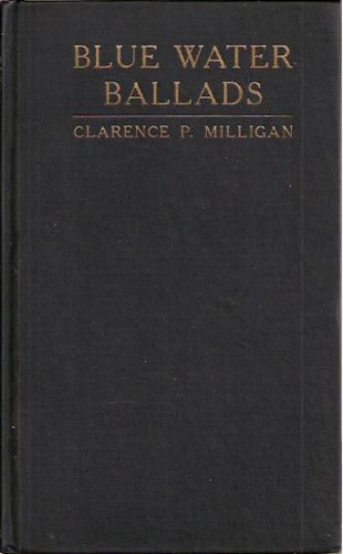 blue water ballads milligan michigan poetry rare bibliófilo