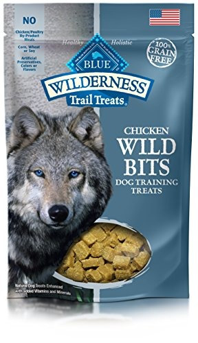 blue wilderness trail trata bits salvajes grain free trainin