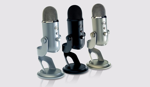 blue yeti microfono ultimate usb mic for professional record