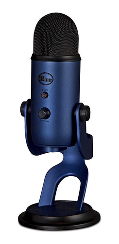 blue yeti usb micrófono - midnight blue