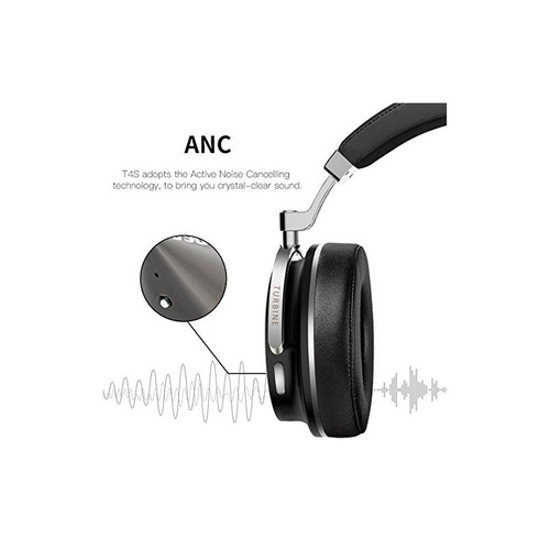bluedio t4s (turbine) cancelación de ruido activa over-ear s