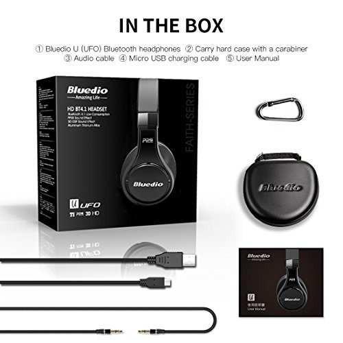 bluedio u (ufo) premium high end wireless bluetooth auricula