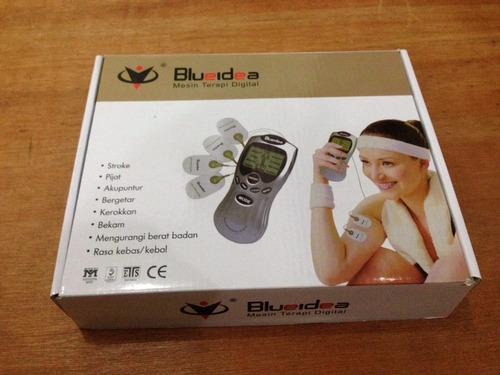 blueidea electroestimulador digital con 4 parches