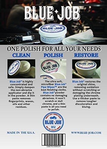 bluejob® producto para pulir cromo recipiente de 28 g / 1 o