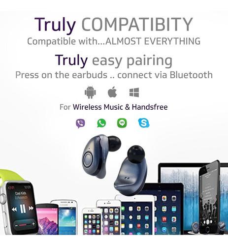 Bluephonic True Wireless Earbuds - Latest Bluetooth 5 0 Mini