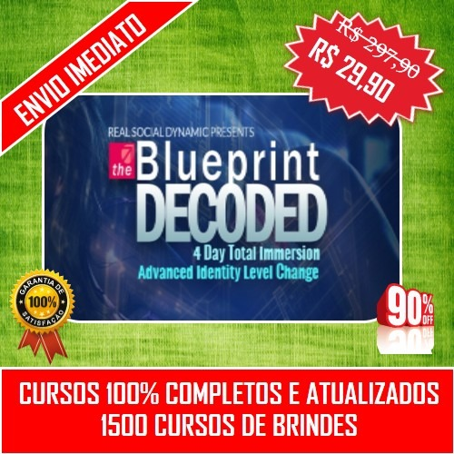 Blueprint decoded rsd legendado 1500 brindes r 2990 em blueprint decoded rsd legendado 1500 brindes malvernweather Image collections