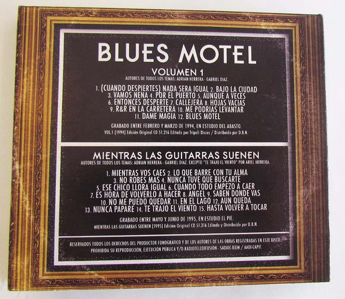 blues motel edición especial
