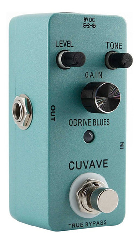 blues music style overdrive efeito guitarra pedal true bypas