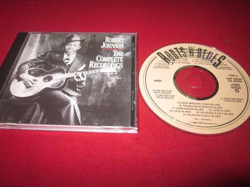 blues robert jhonson complete recordings 2 cd (90s)
