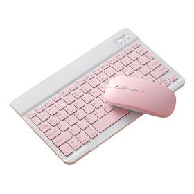 Bluetooth 10 teclado Ratón Peine Set Recargable Para