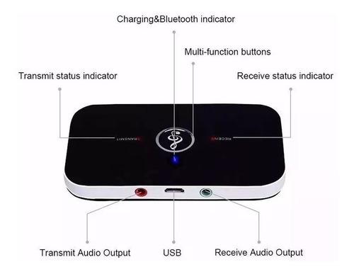 bluetooth 4.1 2-in-1 receptor transmissor wireless 835