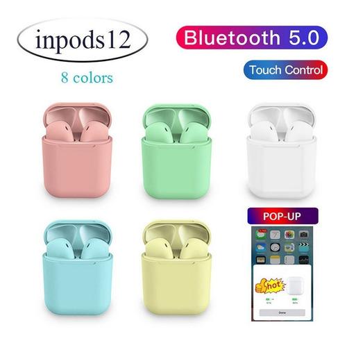 bluetooth 5.0 auriculares inalámbricos pop-up reducción de r