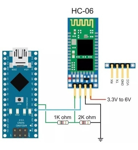 bluetooth arduino bc417 hc-06 esclavo