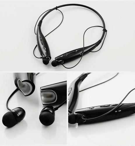 bluetooth auriculares deportivos para iphone samsung negro