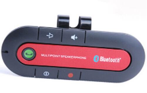 bluetooth car kit handsfree. fone de ouvido para telefones.