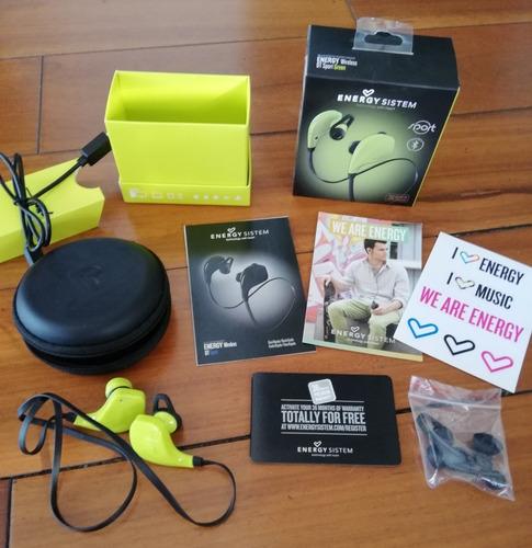 bluetooth earphones energy sistem