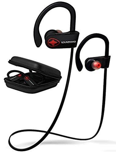 bluetooth inalámbricos que ejecutan los auriculares - soundw