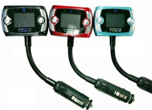 bluetooth manos libres coche kit mp3 player fm transmisor