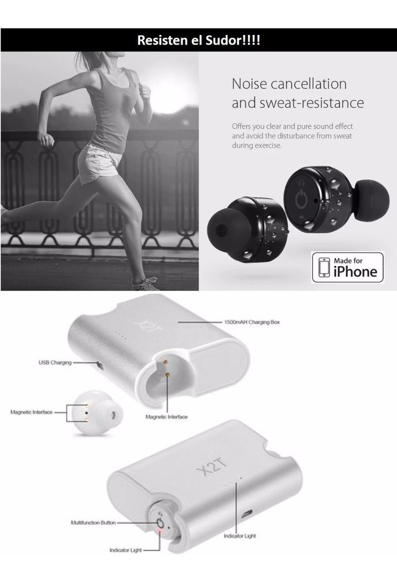 599a950dd39 audífonos x2t bluetooth airpods manos libres 120 hr iphone m. Cargando  zoom... bluetooth manos libres iphone. Cargando zoom.