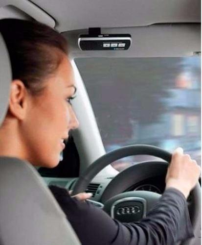 bluetooth manos libres portatil para auto altavoz recargable