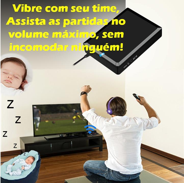 ade577d74a204 transmissor audio bluetooth som tv para o seu fone sem fios · bluetooth  para fone