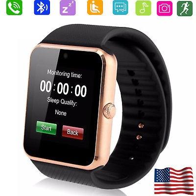 Bluetooth Reloj Inteligente Con Cámara Para Android Huawei ... 59de2f8717e