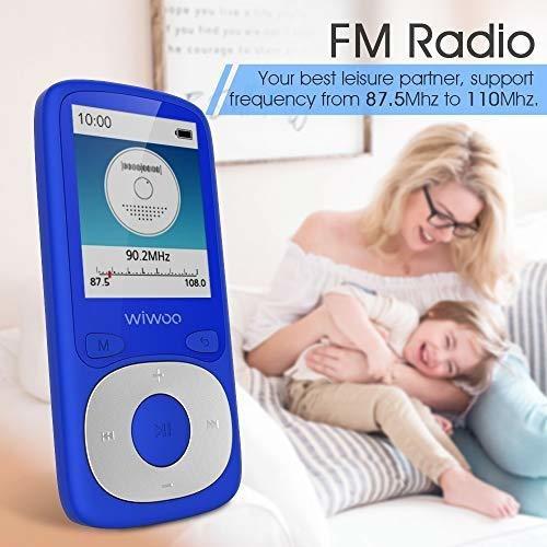 bluetooth reproductor de mp3 con radio fm, equipo de músic