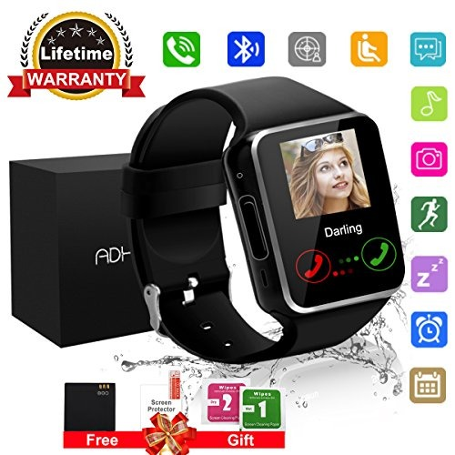 290c78a74d18 Bluetooth Smart Watch Pantalla Táctil Con Cámara
