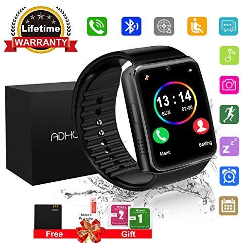 c543efda9 Bluetooth Smart Watch Pantalla Táctil Con Cámara, Reloj D ...