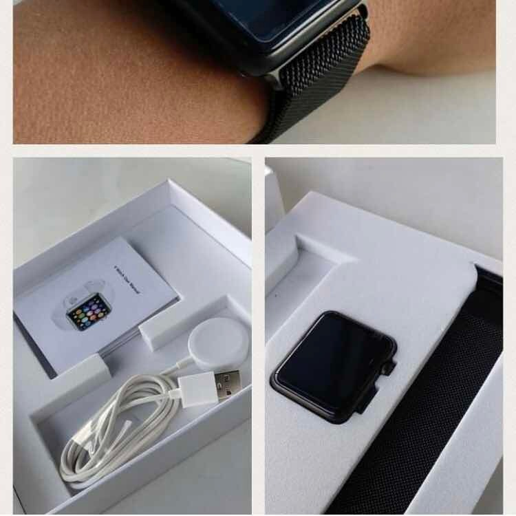 1f3e523860b Bluetooth Smart Watch Para Apple Ios E Android - Iwo 5 - R  519