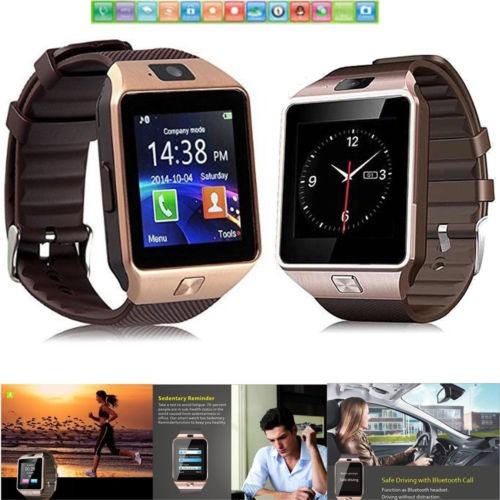 mirada detallada b1467 a5ae2 Bluetooth Smartwatch Teléfono Mate Reloj Para Samsung S9 S8