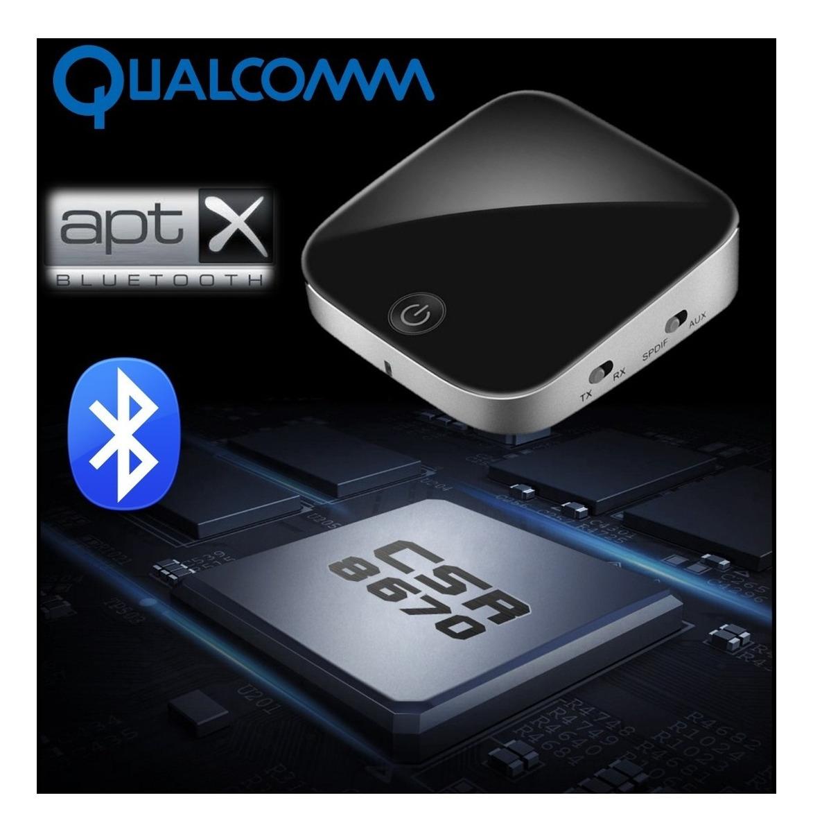 Bluetooth Transmissor Receptor Som Da Tv Para Caixa Fone Bluetooth Jbl Aptx  Low Latency Otico Toslink Spdif P2 Qualcomm